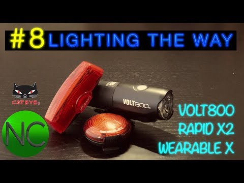 #8 Lighting The Way, Cateye Light Review