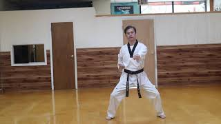 Horse Stance Middle Punch & Front Stretch