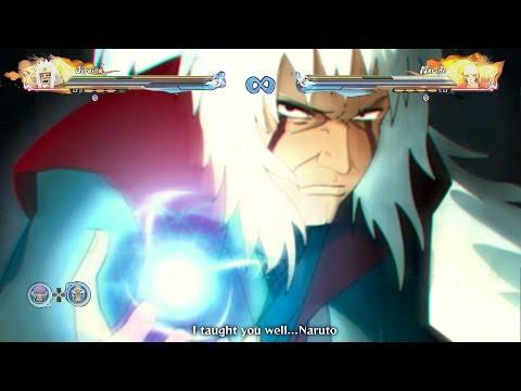 The Ultimate King Sage Mode Rasengan - Naruto Shippuden Ultimate Ninja Storm 4 Road to Boruto