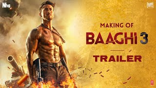 Just when you thought that the Baaghi3 Trailer has given you enough adrenaline rushes, we've got you some more by taking you through the sneak peek of what went behind Ronnie's raw & thunderous action.   Shot mostly in Serbia, while Tiger was bare bodied at minus 7 degrees; the action only gets bigger, better and more powerful with Baaghi 3. He has shot some of the most difficult and high octane real time action sequences, that will definitely keep you at the edge of your seat. These punches, kicks and bruises are proof that it's going to be an adventurous ride.  Watch our Baaghi as he gets ready to take down a nation for his brother. In cinemas on 6th March, 2020.  A Sajid Nadiadwala Franchise  Directed by Ahmed Khan  Produced by Sajid Nadiadwala  Presented & Co produced by Fox Star Studios  A Nadiadwala Grandson Entertainment production  Music on T-series  Baaghi 3 to release on 6th March, 2020  Also Subscribe To 