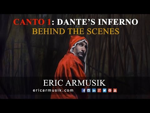 Progress video of me painting Canto 1 of Dante's Inferno