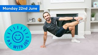 NEW VIDEO: A look back on 13 weeks of PE With Joe ❤️ https://www.youtube.com/watch?v=WGYlz5EcFRk&t  Download your free P.E. With Joe Certificate here: https://www.thebodycoach.com/pewithjoe/