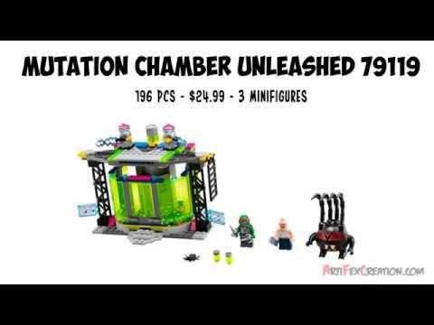 Vidéo LEGO Tortues Ninja 79119 : La chambre de mutation