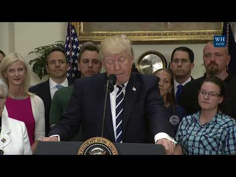 President Trump Gives Remarks on the Apprenticeship and Workforce of Tomorrow Initiatives