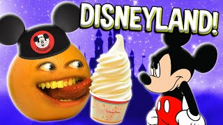 Annoying Orange vs Disneyland