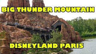 Big Thunder Mountain AWESOME Disneyland Paris Version! Disney Roller Coaster Onride POV