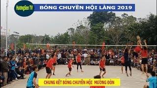 Chung kết bóng chuyền Hội Mường Đòn 2019 -séc cuối    Bóng chuyền Thạch Thành
