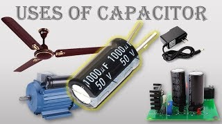 Uses Of Capacitor Very Easy