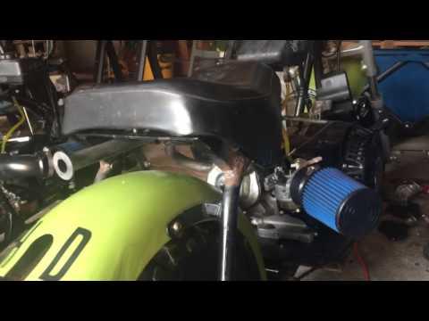 Revving 420cc predator mini bike - смотреть онлайн на Hah Life