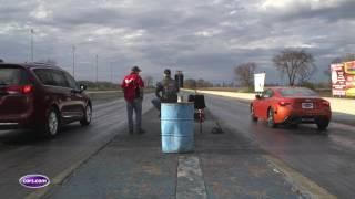 Drag-Strip Challenge: 2017 Chrysler Pacifica Vs. 2017 Toyota 86