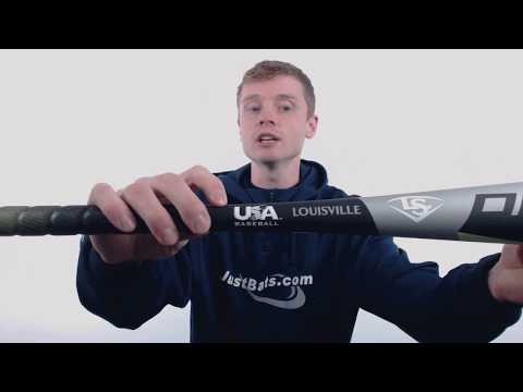 Louisville Slugger Omaha 518 -10 USA Baseball Bat: WTLUBO518B10