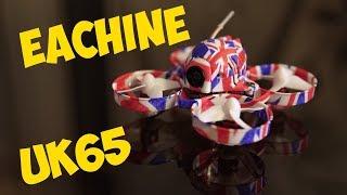 Eachine UK65 - ЛУЧШИЙ Tiny Whoop Квадрокоптер, fpv