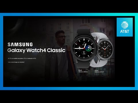 Galaxy Watch4 Classic   AT&T-youtubevideotext