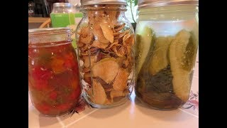 A Morning Garden Harvest And Preserves
