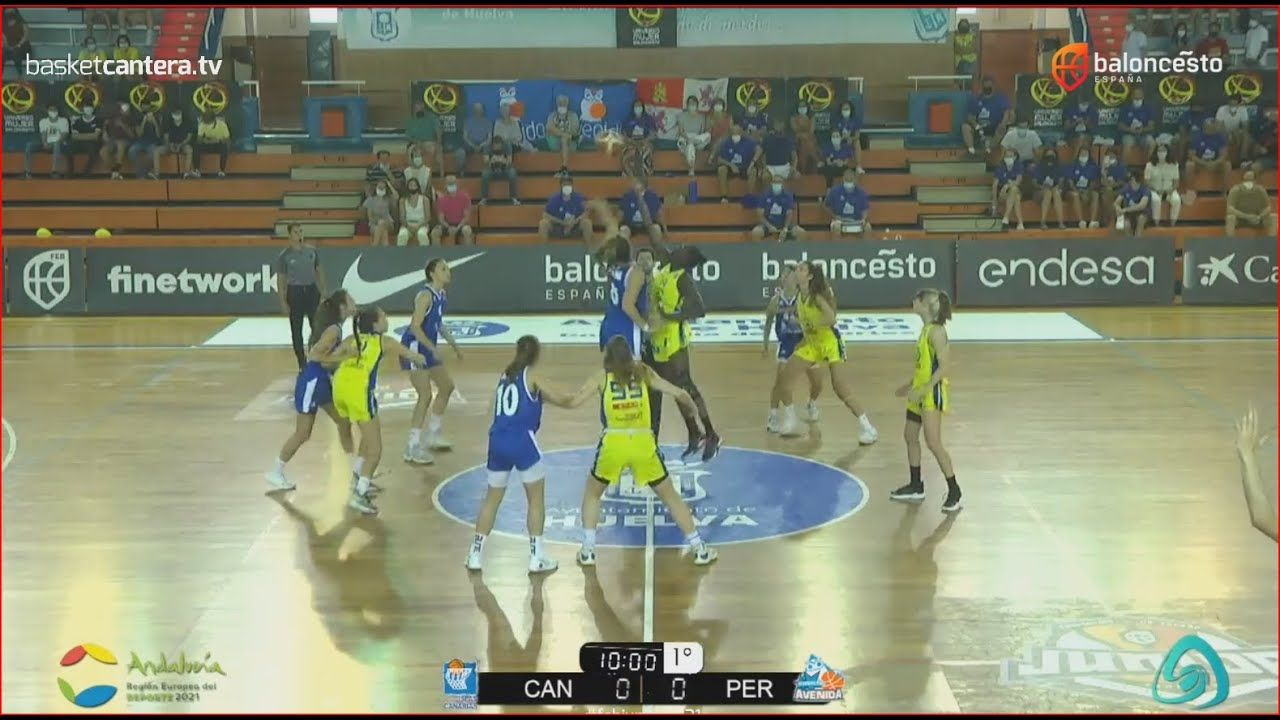 U18Fem - FINAL Cpto. España: SPAR GRAN CANARIA vs PERFUMERÍAS AVENIDA.- Junior Fem. FEB-Huelva 2021