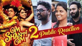 Public Excitement For Shahrukh Khan's Om Shanti Om 2