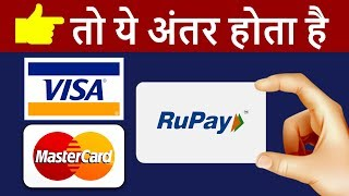 What is RuPay Card, VISA Card, MasterCard ? | Different Types of DEBIT CARDS in INDIA | HINDI