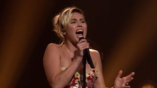 Miley Cyrus Returns To Her Folk Music Roots On Fallon & Disses Trump