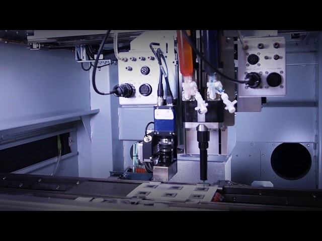 The Vortik VPm Progressive Cavity Pump dispensing two-component materials for encapsulation.