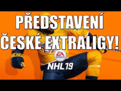 NHL 19-PŘEDSTAVENÍ SOUPISEK A HODNOCENÍ ČESKÉ EXTRALIGY!!!