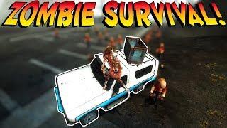ZOMBIE SURVIVAL! | Garry's Mod Gameplay | Gmod Roleplay - Sandbox Zombie Survival (Kid Friendly!)