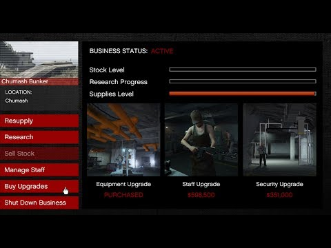 GTA 5 How To Buy A Bunker Vehicle And The Setup Online