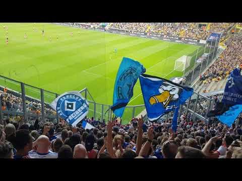 SG Dynamo Dresden - Hamburger SV *Gästeblock, Choreo SGD*