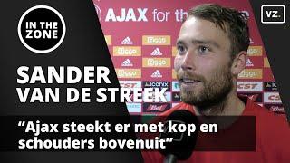 Van de Streek over PSV: 'Ajax steekt er met kop en schouders bovenuit'