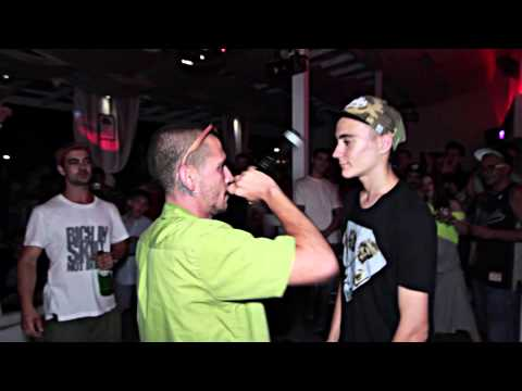 Freestyle Rap Battle - Yorgo vs Secta, 15.08.14, Varna, La Playa