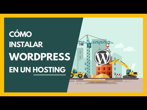 Cómo instalar WordPress en un hosting con cPanel - Tutorial 2019
