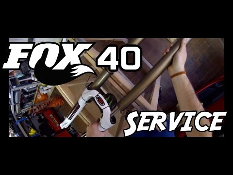 How to maintain FOX 40 fork