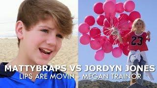 MattyBRaps Vs Jordyn Jones   Lips Are Movin By Meghan Trainor
