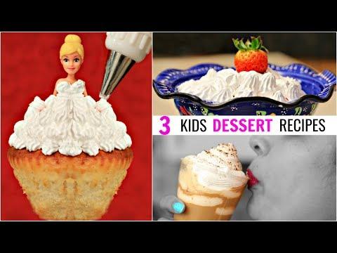 Whipped Cream – 3 Kids Dessert Recipes | #ShrutiArjunAnand #CookWithNisha