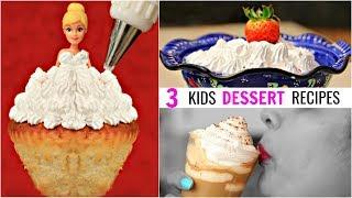 3 Kids Dessert Recipes | #ShrutiArjunAnand #CookWithNisha