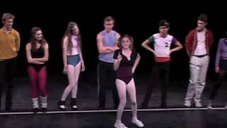 A Chorus Line Part 6 - Montage 4 (Gimme the Ball)/Dance Ten Looks Three - Up Stage Left Productions