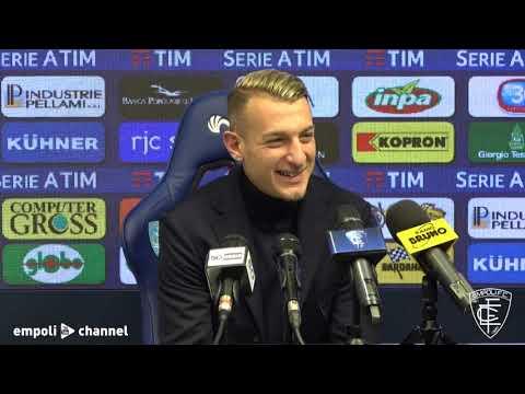 Preview video Le parole di Antonino La Gumina e Francesco Caputo al termine di Empoli-Bologna