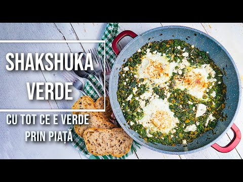0 Verzi de primăvară shakshuka