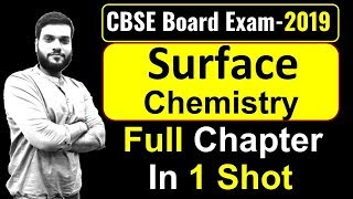 (Board Exam) || Surface Chemistry || Revise in 1 Video || By Arvind Arora - Download this Video in MP3, M4A, WEBM, MP4, 3GP