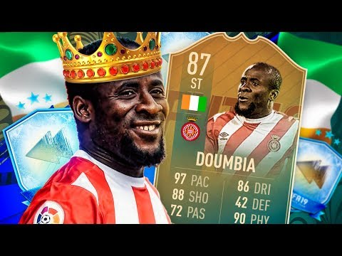 IS HE WORTH IT?! 87 FLASHBACK DOUMBIA PLAYER REVIEW! FIFA 19 Ultimate Team