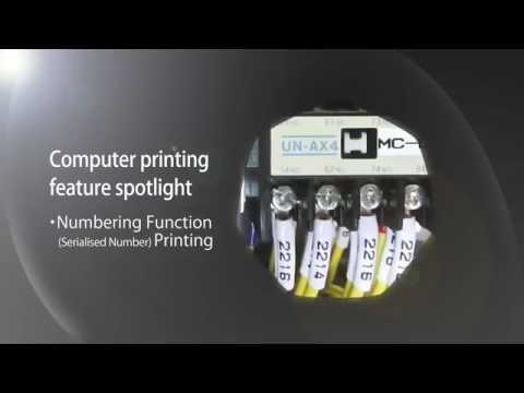 Brother Pt-E800t Industrial Tub Ferrule Label Printer