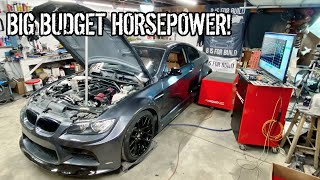 Heavily Modifying Kyles E92 BMW And Dyno Testing Each Mod