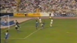 Albacete 1 - Valencia 0. Temp. 91/92. Jor. 2
