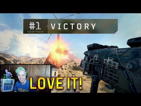 Ninja LOVES The *NEW* Call Of Duty Black Ops 4 Blackout on PC! Ninja FULL STREAM Highlights