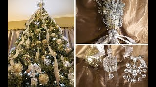 Crystal  & Sparkle DIY DT Ornaments And Mardi Gras Tree Topper