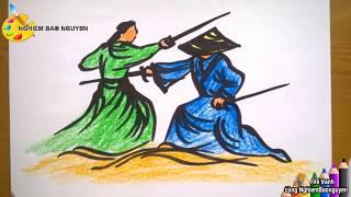 Vẽ tranh đấu kiếm