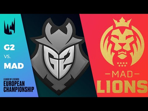 G2 vs MAD, Game 5 - LEC 2020 Spring Playoffs Round 1 - G2 Esports vs MAD Lions G5