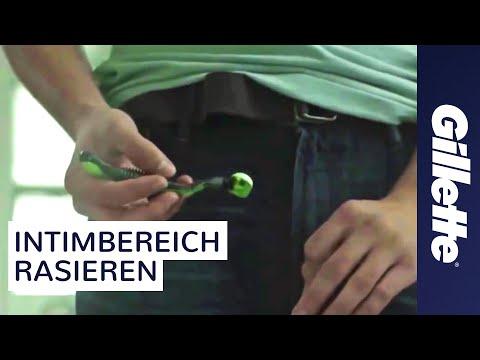 Intimbereich rasieren: How to Shave Tutorial | Gillette