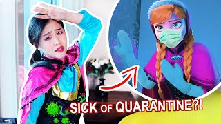 """Anna HAS HAD ENOUGH of QUARANTINE!? -【Disney Frozen """"First Time in Forever"""" Parody】
