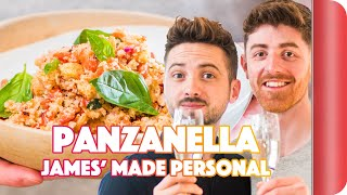 Made Personal with James (at Barry's House) - Panzanella Salad