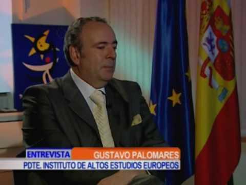 Adriana Vargas entrevista para Canal Caracol en Entrevista NTN 24 a Gustavo Palomares, Presidente del Instituto de Altos Estudio